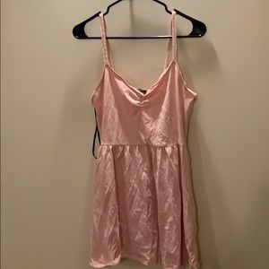 pink babydoll dress